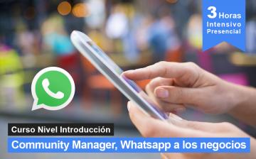 CM, Whatsapp a los negocios - curso y seminario