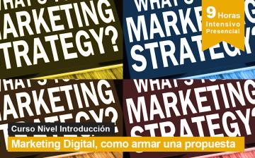 Marketing Digital, como armar una propuesta - curso y seminario