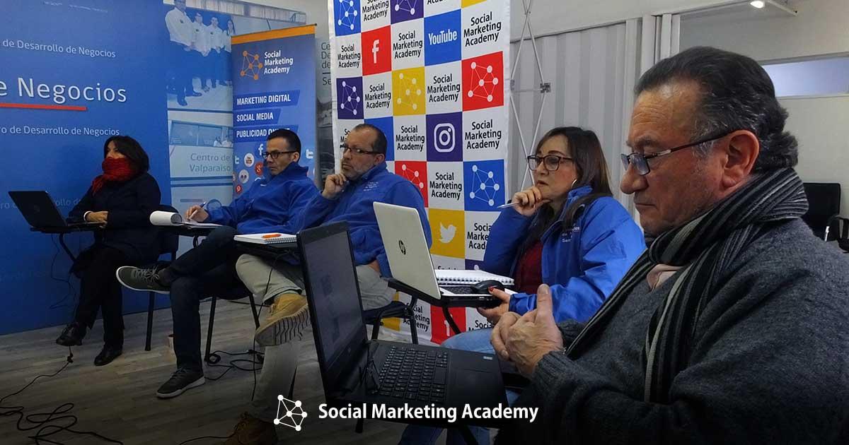 Capacitacion In Company Marketing Y Comunicaciones - Centro de Negocios Sercotec - Primera Jornada - 2